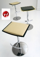 Picture of Bonbon Contemporary Adjustable Cafeteria Dining Barstool