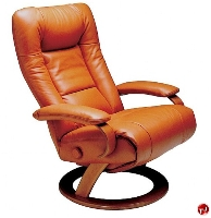Picture of Lafer Ella Recliner, Leif Petersen NCLFEL Soft Black Chair