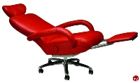 Picture of Lafer Executive Liza Recliner, Leif Petersen NCLFEXLI Black Chair