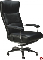 Picture of Lafer Executive Josh Recliner, Leif Petersen NCLFJO Black Chair