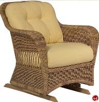 Picture of Whitecraft Sommerwind S596081, Outdoor Wicker Single Glider Chair