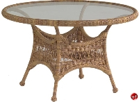 """Picture of Whitecraft Sommerwind S596602, Outdoor Wicker 48"""" Round Dining Table"""