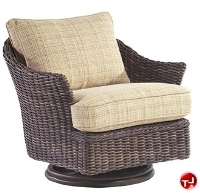 Picture of Whitecraft Sommerwind S561015, Outdoor Wicker Swivel Lounge Chair