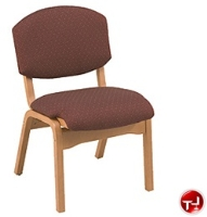 Picture of KFI 100 Series, CH120 Armless Wood Stack Chair
