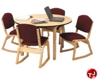 Picture of KFI 100 Series, 2P120 Armless 2-Position Wood Chair