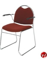 Picture of KFI 300 Series, RB311 Guest Side Arm Stack Chair