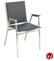 Picture of KFI 400 Series, 411 Guest Side Arm Stack Chair