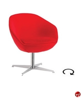 Picture of Aceray Conca Contemporary Swivel Lounge Lobby Chair