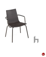 Picture of Aceray 393 Outdoor Wicker Stacking Dining Armchair