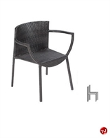 Picture of Aceray 394 Outdoor Wicker Stacking Dining Armchair