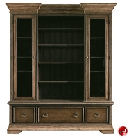 Picture of Stanely Signature European Farmhouse Les Halles Display Cabinet