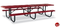 Picture of Outdoor 238 Series, 12' Extra Heavy Duty Steel ADA Shelter Picnic Table