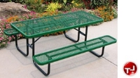Picture of Outdoor 158, 8' Heavy Duty Steel Picnic Dining Table