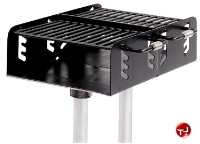 Picture of 650 Dual Grate Family Size Inground Pedestal Grill