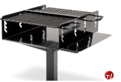 Picture of 621 BI-Level Family Size Inground Grill with Utility Shelf