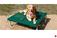 Picture of Bark Park Paws Table, Outdoor Dog Exercise