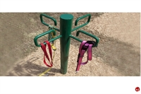 Picture of Bark Park Outdoor Dog Leash Post