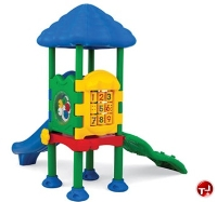 Picture of Play Today Discovery Center 1 Platform Structure, 2-5 Years