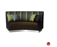 Picture of Banquette 730, Reception Lounge Lobby Curved 2 Seat Double Bench Sofa