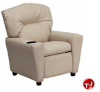 Picture of Kids Recliner with Cup Holder