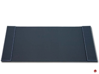 "Picture of Dacasso P1801 Black Bonded Leather Deskpad, 34"" x 20"""