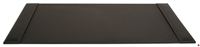 "Picture of Dacasso P1201 Rustic Black Leather Deskpad, 34"" x 20"""