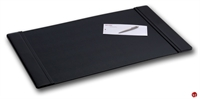 "Picture of Dacasso P1001 Black Leather Deskpad, 34"" x 20"""