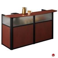 "Picture of 72"" Reception Coffee Bar Desk Workstation, 53991"
