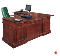 Picture of 15065 Traditional Veneer L Shape Executive Office Credenza