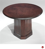 """Picture of 41444 Traditional Veneer 48"""" Round Conference Table"""