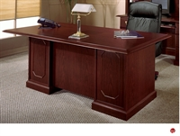 "Picture of 11987 Traditional Laminate 72"" Executive Office Desk Workstation"