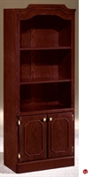 Picture of 32795 Traditional Laminate Open Bookcase with Doors