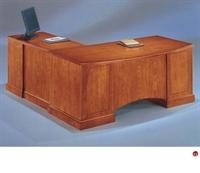 "Picture of 15194 Veneer 72"" L Shape Executive Office Desk Workstation"