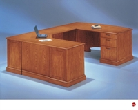 "Picture of 15191 Veneer 72"" U Shape Executive Office Desk Workstation"