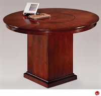 """Picture of 40710 Veneer 48"""" Round Conference Table"""