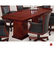 """Picture of 40711 Veneer 96"""" Boat Shape Conference Table"""