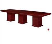 Picture of 40708 Veneer 12' Boat Shape Conference Table