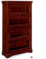 Picture of 32692 Veneer Four Door Barrister Bookcase