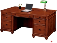 "Picture of 15395 Veneer 72"" Executive Office Desk Workstation"