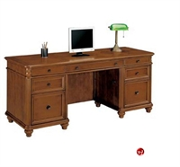 "Picture of 15396 Veneer 72"" Kneehole Credenza"