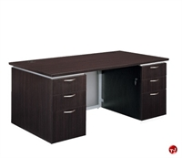 "Picture of 15470 Laminate 72"" Executive Office Desk Workstation"