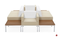 Picture of Global Ballara Modular Contemporary Reception Lounge Seating Suite