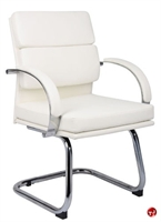 Picture of Boss Aaria B9409 Contemproray Guest Side Reception Sled Base Chair