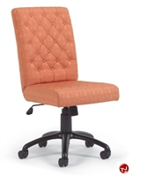 Picture of Flexsteel CA405 Traditional Mid Back Armless Tufted Chair