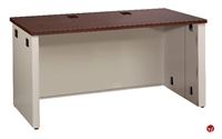 """Picture of 24"""" X 42"""" Steel Office Desk Shell Workstation, Full Modesty"""