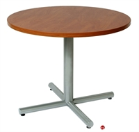 "Picture of 36"" Round Cafeteria Dining Conference Table"