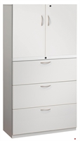 "Picture of 3 Drawer Trace Lateral File Combo Steel Storage Cabinet, 30""W"