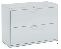 "Picture of 2 Drawer 42""W Steel Lateral File Cabinet"