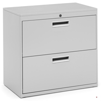 "Picture of 2 Drawer Steel Lateral Mobile File Cabinet, 30""W"