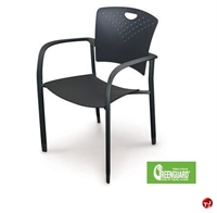 Picture of Balt Guest side Reception Poly Arm Stack Chair